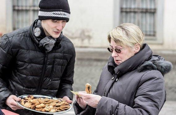 "Deivido Breivės nuotr./""No Theatre"" sveikino su meilės diena"