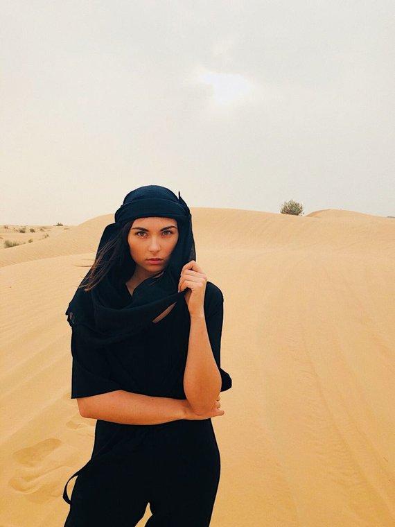 Asmeninio albumo nuotr./Aistė Kabašinskaitė Dubajuje