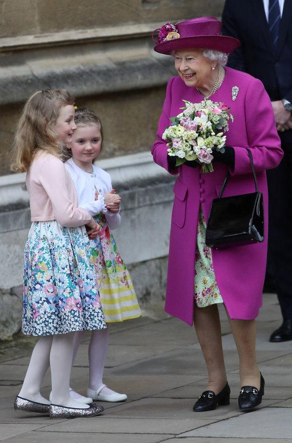 """AFP/""""Scanpix"""" nuotr./Elizabeth II"""