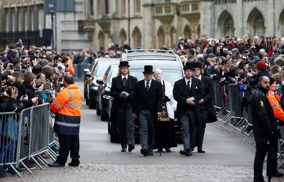 "AFP/""Scanpix"" nuotr./Stepheno Hawkingo laidotuvės"