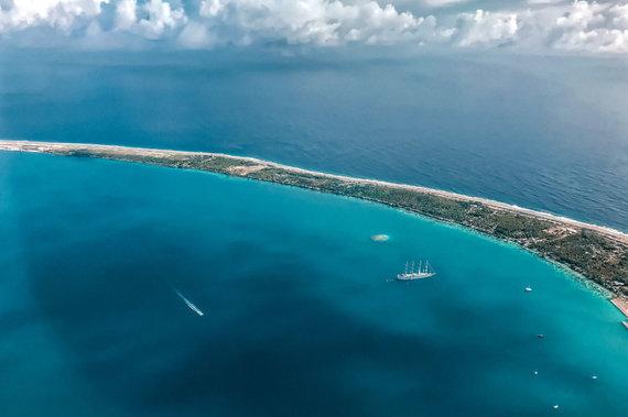 Asmeninio albumo nuotr./Renaldo Vaičiūno išvyka į Fakaravos atolą