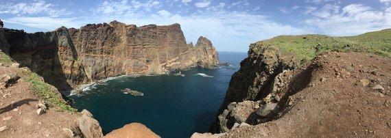 Asmeninė  nuotr./Kelionės Madeiroje akimirka
