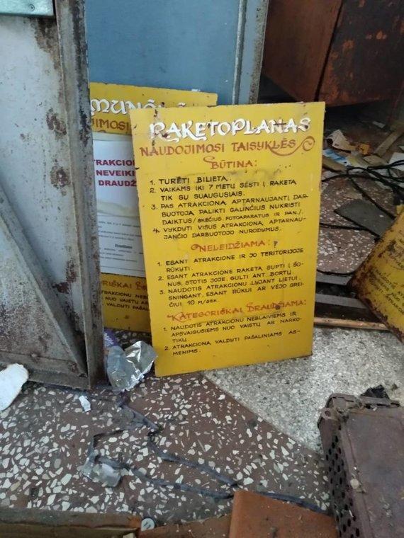 Ugniaus Antanavičiaus nuotr./Naudojimosi Elektrėnų atrakcionų parku taisyklės
