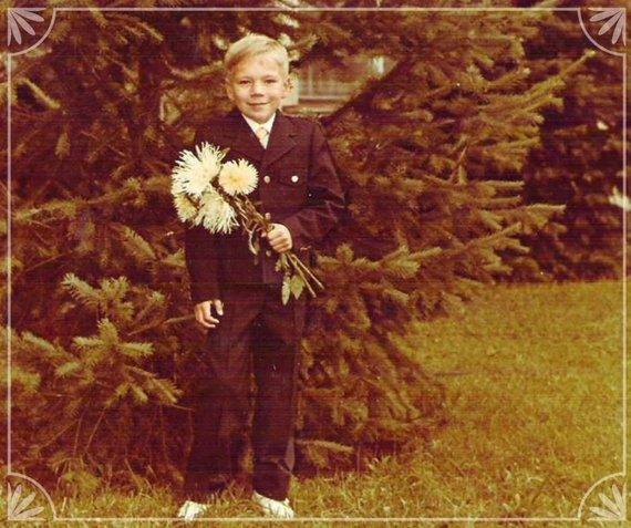 Asmeninio M.Puidoko archyvo nuotr./M.Puidoko nuotrauka iš 1985 m., kai jis buvo pirmokas
