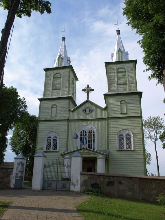 Wikipedia Commons nuotr./Balbieriškio senoji bažnyčia