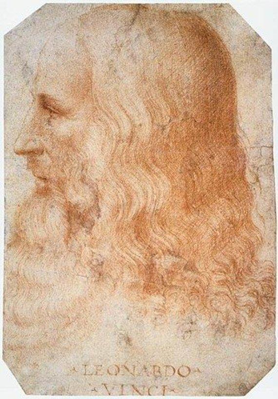 Wikipedia Commons nuotr./Franceso Melzi nupieštas Leonardo da Vinci portretas