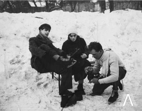 """archivesofculture.com nuotr./1931 m. filmo """"Onytė ir Jonelis"""" kadras"""