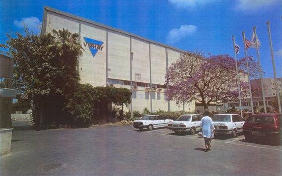 "Yad Vashem muziejaus nuotr./""Vishay Intertechnologies"" gamykla Izraelyje, Holone"