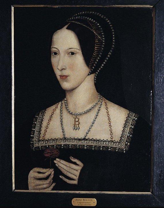 Wikimedia Commons nuotr./Karalienė Anna Boleyn
