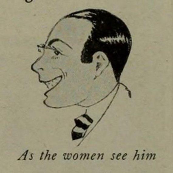 Wikimedia Commons nuotr./Karikatūra, kaip moterys mato Valentino
