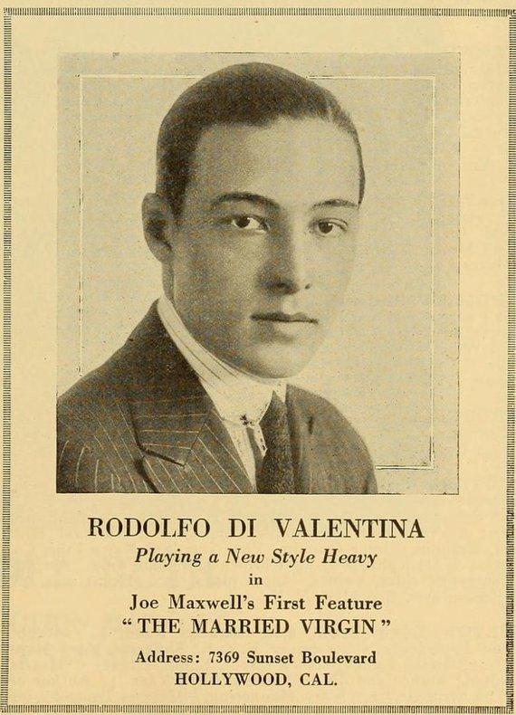 Wikimedia Commons nuotr./R.Valentino filmo afiša