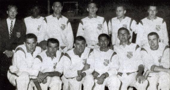USA Basketball nuotr./1959 m. JAV rinktinė