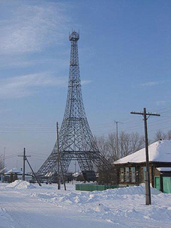 Wikimedia Commons nuotr./Eifelio bokštas Paryžiuje Rusijoje