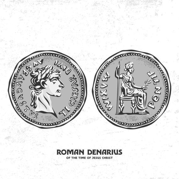 123RF.com nuotr./Jėzaus Kristaus laikų romėnų pinigai