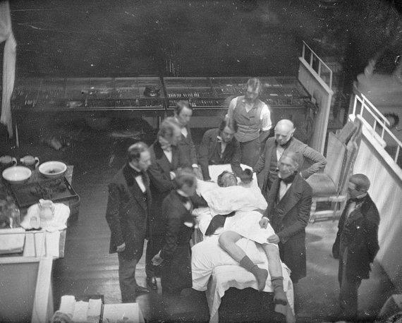 Wikimedia Commons nuotr./Pirmosios operacijos su nuskausminamaisiais 1846 m. atkūrimas