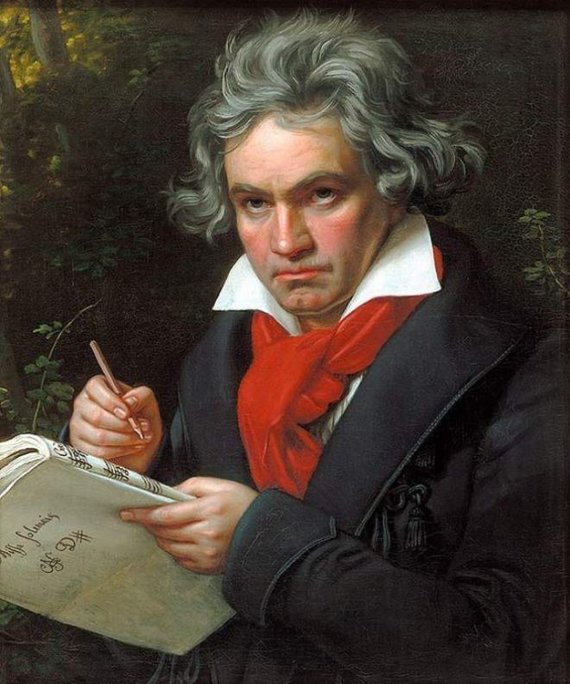 Wikimedia Commons pav./Liudwigas Van Beethovenas.