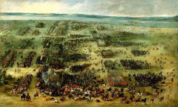 Flamandų tapytojo Pieterio Snayerso paveikslas/Salaspilio mūšis