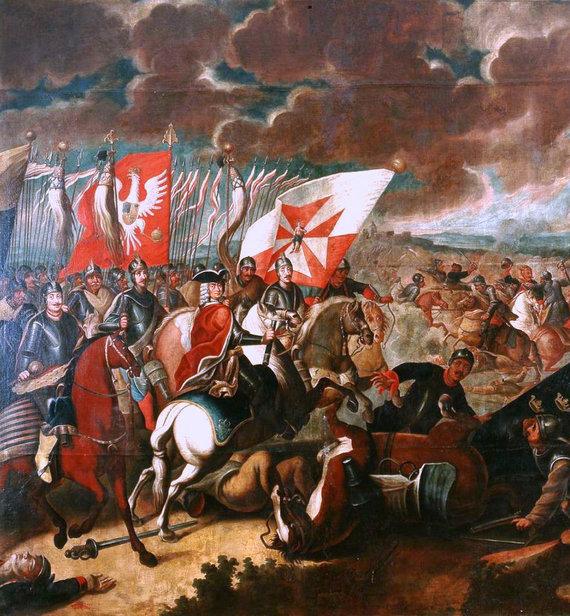 Wikimedia Commons pav./Husarai Kališo mūšyje, 1706 m.