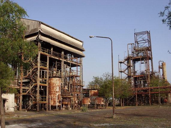 Juliano Nyčos / Wikimedia Commons nuotr. (CC BY-SA 3.0)/Buvę gamyklos pastatai 2010 m.