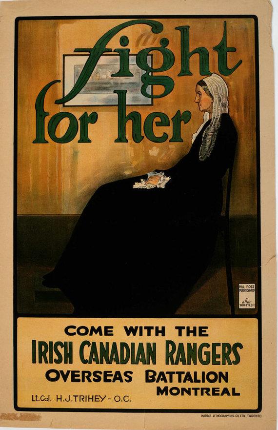 """I pasaulinio karo paveikslas, kuriame pasitelkti """"Whistlerio motinos"""" motyvai"""