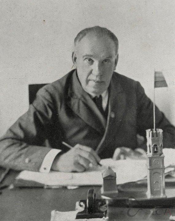 Lietuvos centrinio valstybės archyvo nuotr./Konstantinas Lapinas 1933 m.