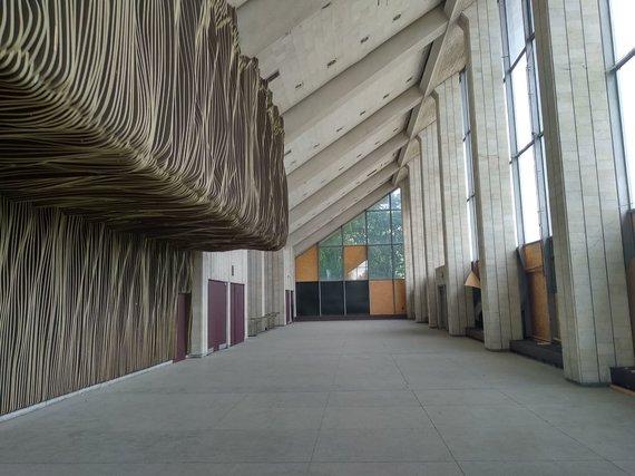Ugniaus Antanavičiaus nuotr./VIlniaus koncertų ir sporto rūmai. Antras aukštas