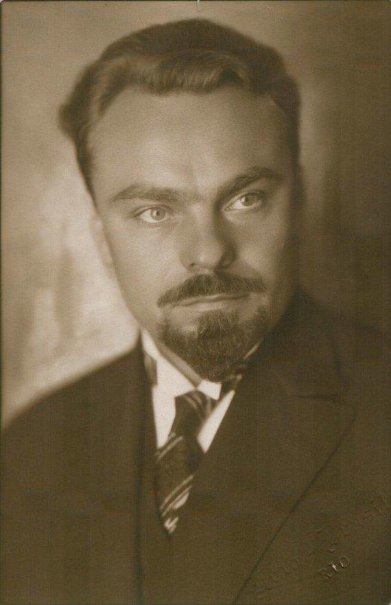 epaveldas.lt nuotr. /Kazys Pakštas 1927 m.