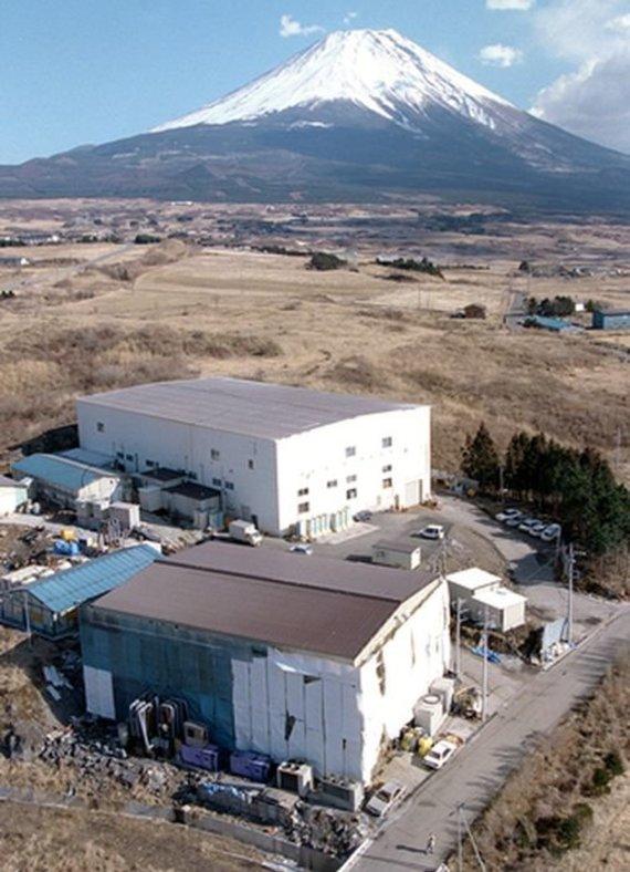 """""""Scanpix""""/AP nuotr./Aum Shinrikyo būstinė Fudzijamos kalno papėdėje, kur veikė laboratorija"""