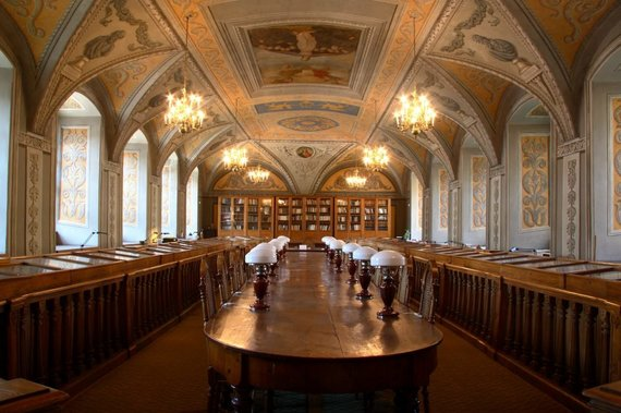 VU bibliotekos nuotr./Smuglevičiaus salė