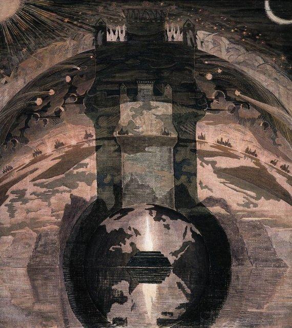 """ciurlionis.eu nuotr./M.K.Čiurlionio paveikslas """"Rex"""""""