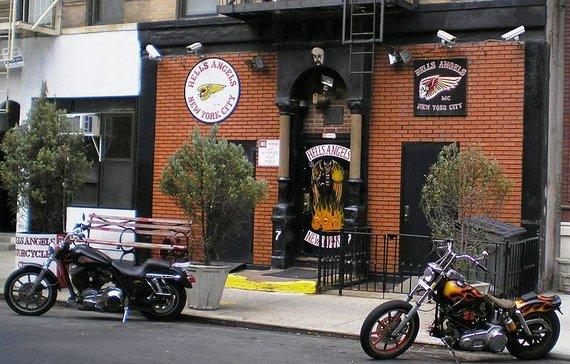 wikipedia.org nuotr./Hells Angels klubhauzas Niujorke