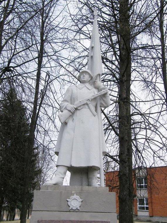 Kultūros paveldo departamento nuotr./Paminklas sovietinės armijos kariams Žasliuose