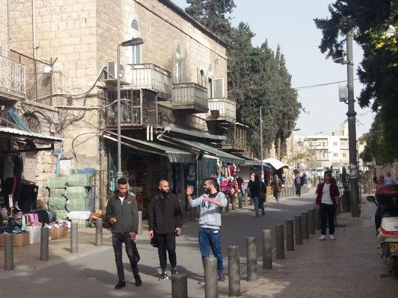 Ugniaus Antanavičiaus nuotr. /Jauni rytų Jeruzalės gyventojai