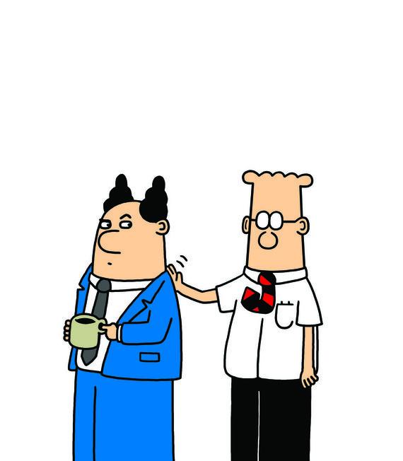 Dilbertas ir jo bosas
