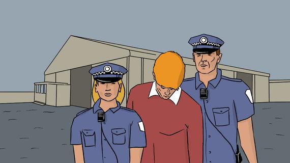 Skirmanto Malinausko iliustracija/2008 metų sausio 23 dieną Atą sulaikė Australijos policija