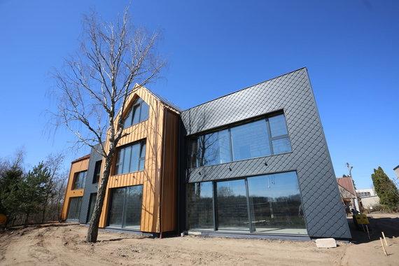 """""""Citus"""" nuotr./Kyla """"Aeronamai"""": pastatas, ketinantis tapti energiškai efektyviausiu Lietuvoje"""