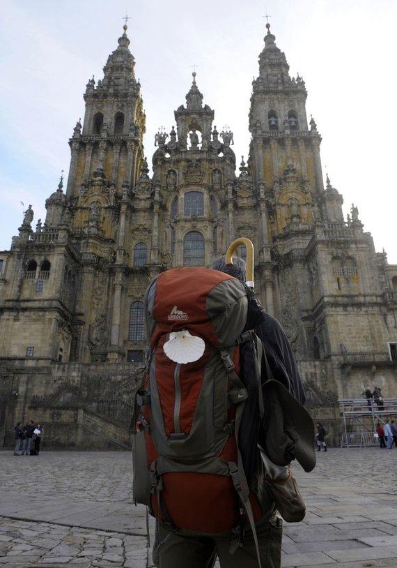 """Scanpix"" nuotr./Santiago de Compostela katedra"