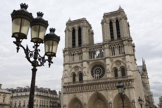 """""""Scanpix"""" nuotr./Paryžiaus Dievo Motinos katedra"""