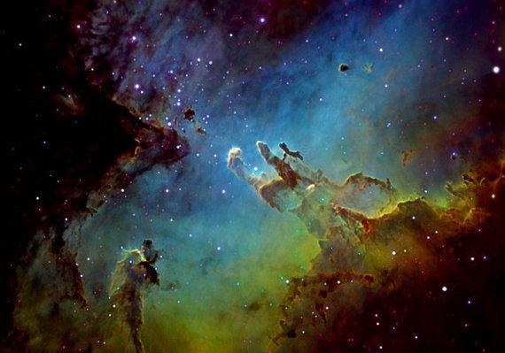 NASA/Hubble nuotr/Erelio ūkas
