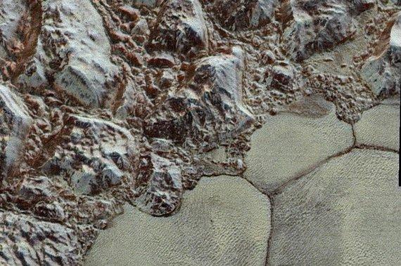 NASA nuotr./Spalvota Plutono nuotrauka