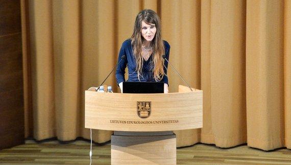 """2016 m. Vilniuje įvyko tarptautinė konferencija """"Taikomoji elgesio analizė: psichologinė, edukacinė ir medicininė pagalba. Iššūkiai ir galimybės""""."""