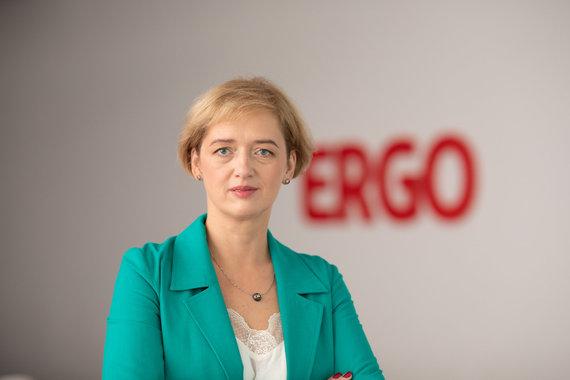 ERGO Produktų vystymo vadovė Audronė Kupliauskienė. Asmeninio archyvo nuotr.