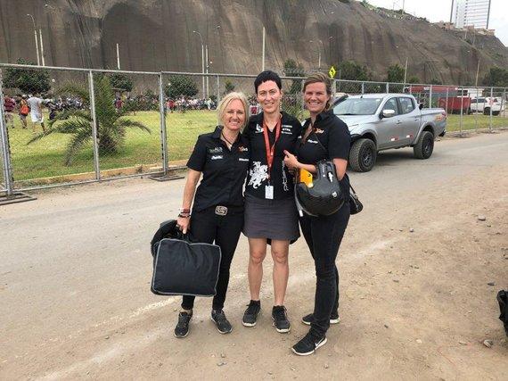 Dianos Gedeikytės-Jakutienės nuotr./Moteriški Dakaro ekipažai