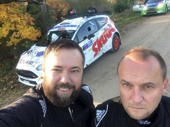 Komandos nuotr./Mindaugas Varža (kairėje) ir Egidijus Valeiša