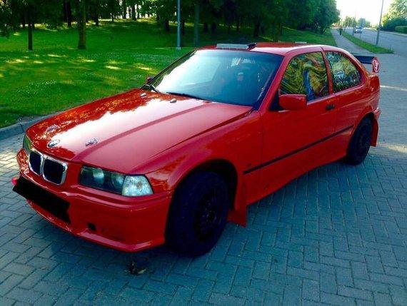 Komandos nuotr./Komandos BMW