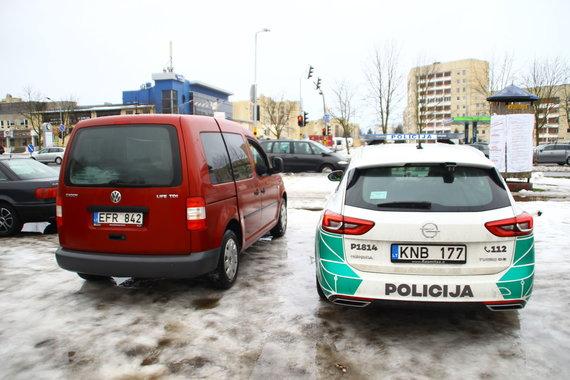 Tomo Markelevičiaus / 15min nuotr./Vairuotojų ir pėsčiųjų kontrolė