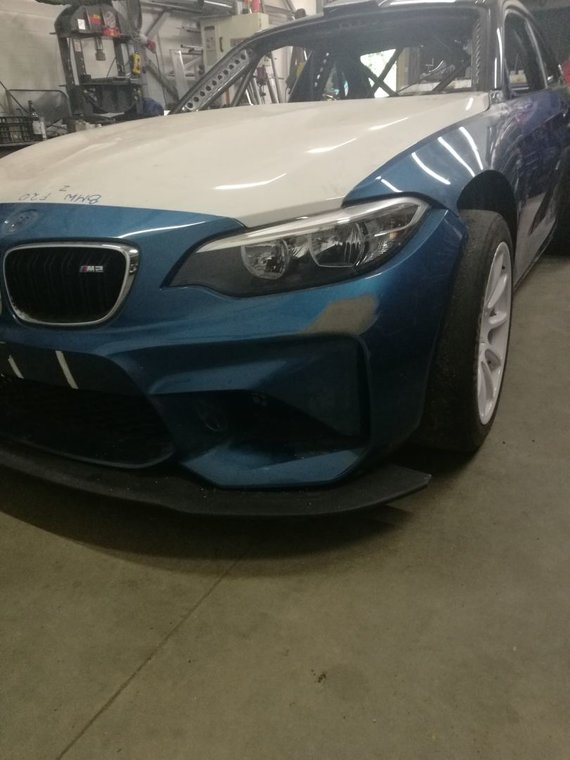 Komandos nuotr./BMW M2 gamyba lenktynėms