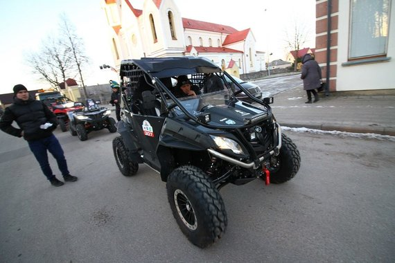"Komandos nuotr./""CFMOTO Factory Racing Team"""