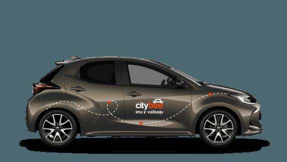 """""""CityBee"""" nuotr./""""CityBee"""" """"Toyota Yaris"""""""