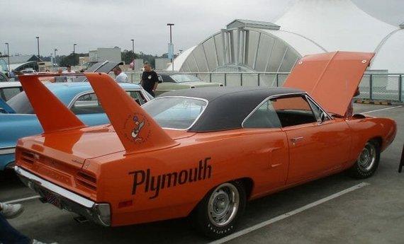 "wikimedia nuotr./""Plymouth Superbird"""